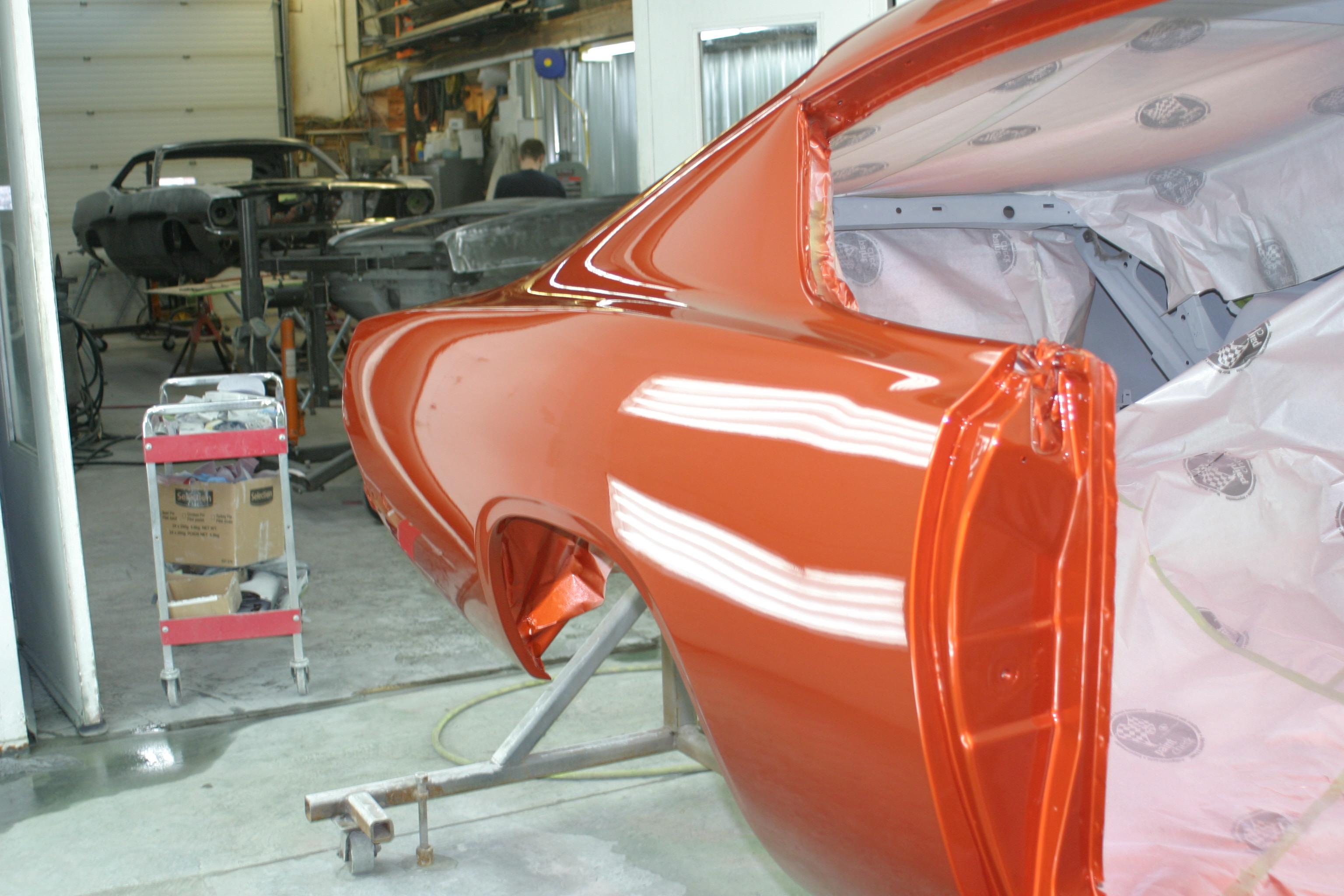 Hot rods muscle cars classic custom car truck restoration for Best automotive paint gun